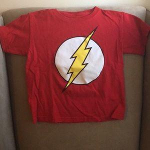 "Kids ""The Flash"" T-shirt - Size 5/6"